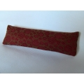 Rust Circle Long Oblong Pillow
