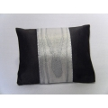 Silver Grain Large Rectangle Pillow