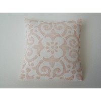 Papaya Batik Large Square Pillow