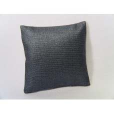 Metallic Blue Large Square Pillow
