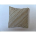 Cafe Stripe Large Square Pillow