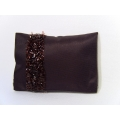 Plum Frill Medium Rectangle Pillow