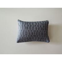 Shimmer Blue Medium Rectangle Pillow