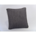 Flannel Gray Medium Square Pillow