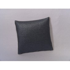 Metallic Blue Medium Square Pillow