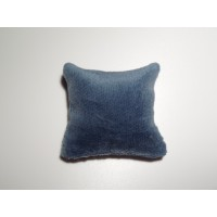Blue Velvet Medium Square Pillow