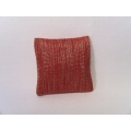 Mandarin Metallic Small Square Pillow
