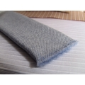 Cashmere Blue-Gray Throw