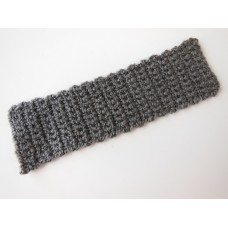 Knitted Throw - Charcoal