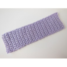 Knitted Throw - Lavender