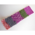 Knitted Throw - Multi Fuschia
