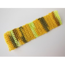 Knitted Throw - Multi Gold