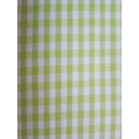 Green Check Duvet