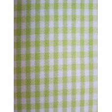 Green Check Duvet