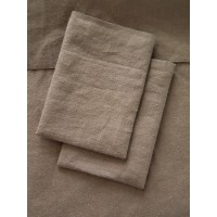 Brushed Brown Sheet Set