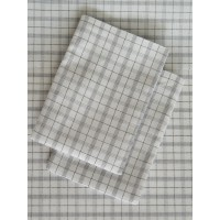 Black White Checked Sheet Set