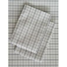 Black White Checked Sheet Set