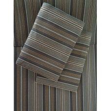 Brown Multi Stripe Sheet Set