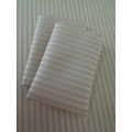 Cream Stripe Sheet Set