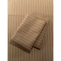 Khaki Stripe Sheet Set