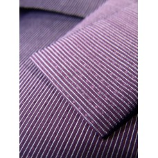 Plum Stripe Sheet Set