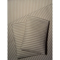 Taupe Stripe Sheet Set