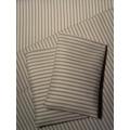Taupe Stripe Sheet Set