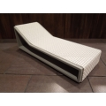 Aero Chaise - White on Gray Base