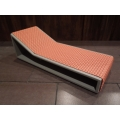Aero Chaise - Orange on Gray Base