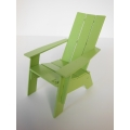 Loll 3 Slat Adirondack in Green