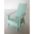 Loll 3 Slat Adirondack in Light Blue