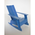 Loll 3 Slat Rocker in Blue