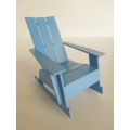 Loll 3 Slat Rocker in Sky Blue
