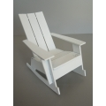 Loll 3 Slat Rocker in White