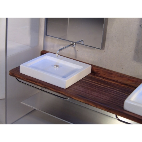 Modern Dollhouse Furniture M112 Pods Dual Vanity Unit