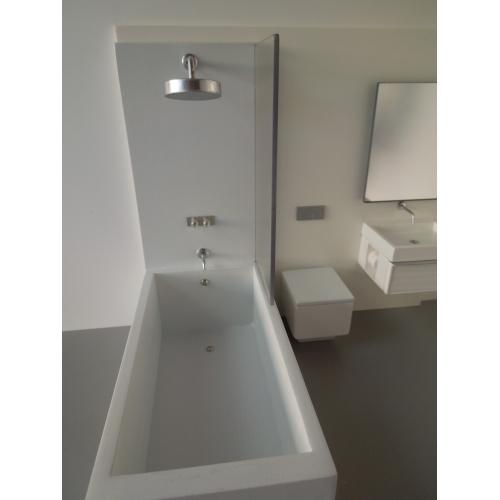 Modern Dollhouse Furniture M112 Pods Single Vanity Bath Unit