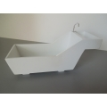 Tham Tub and Sink in White