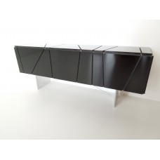 Cole Entertainment Console in Black