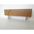 Cole Entertainment Console in Walnut