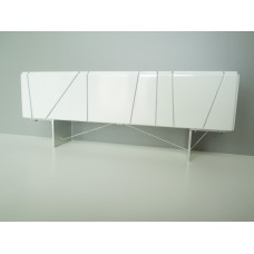 Cole Entertainment Console in White