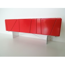 Cole Entertainment Console in Red