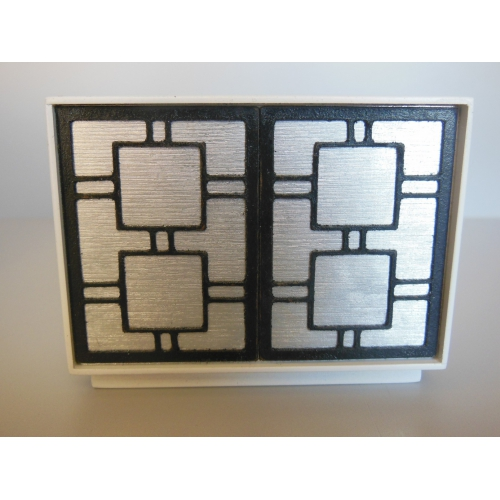 Modern Dollhouse Furniture M112 Pods Linden 2 Door Cabinet In