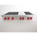 6 Burner Cooktop with Griddle