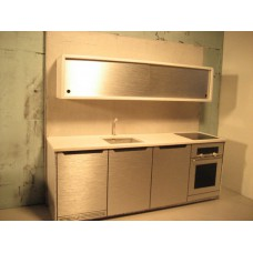 Efficiency Kitchen with Upper Cabinet