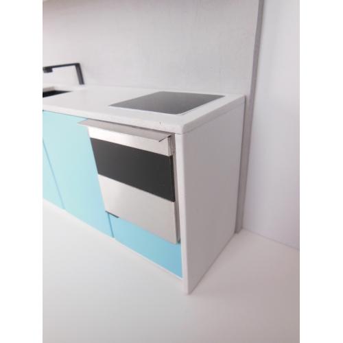 Kitchen Upper Cabinet Plans: Modern Dollhouse Furniture