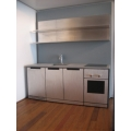 Efficiency Kitchen with Double Shelf