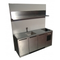 Efficiency Kitchen with Single Shelf