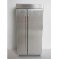 Stainless Steel Side-by-Side Refrigerator
