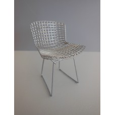 Bertoia Chair in Chrome Metal