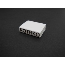 Rothko Art Book with White Cover
